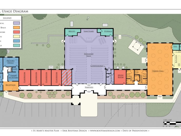 St. Mary Master Plan Gallery