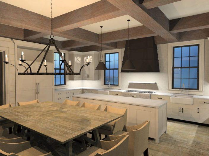 Renderings – Beach House 1 Kitchen